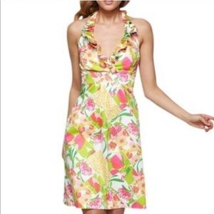 Lilly Pulitzer Ramona Patchwork Halter Dress